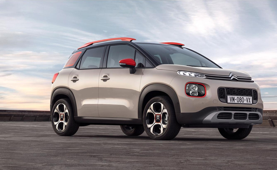 citroen c3 aircross car review front