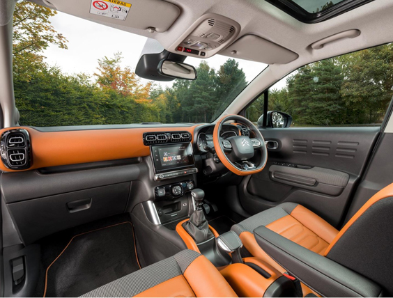 citroen c3 aircross car review interior