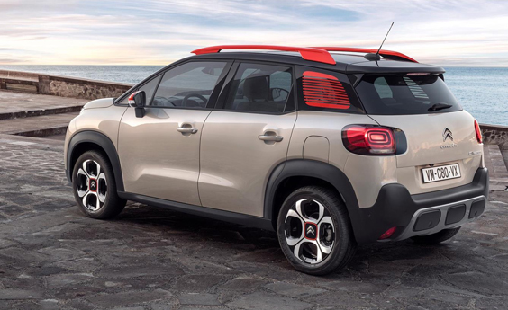 citroen c3 aircross car review rear
