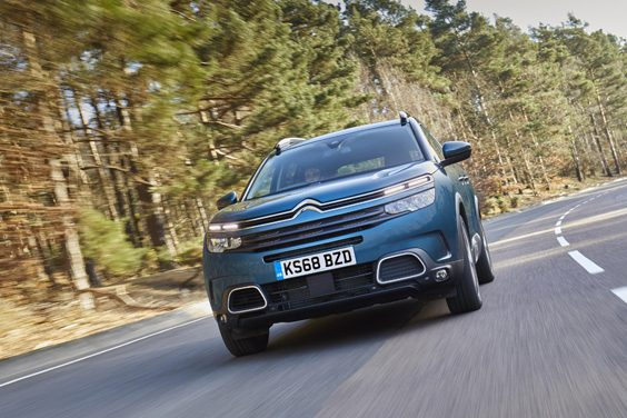 citroen c5 aircross car review front