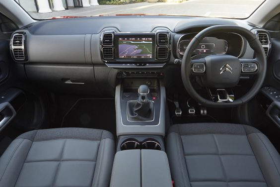 citroen c5 aircross car review interior