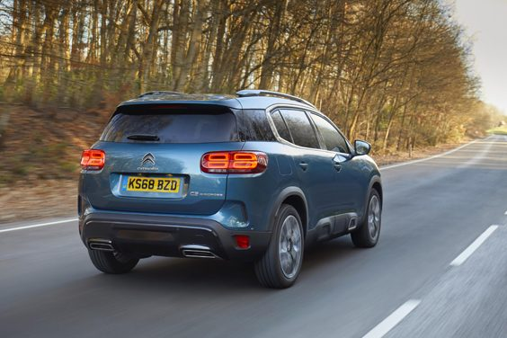 citroen c5 aircross car review rear