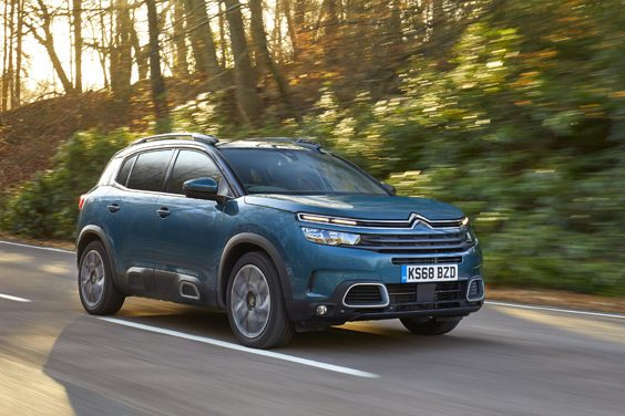 citroen c5 aircross car review side