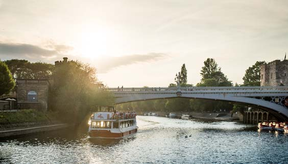 city cruises york review boat trip sunset