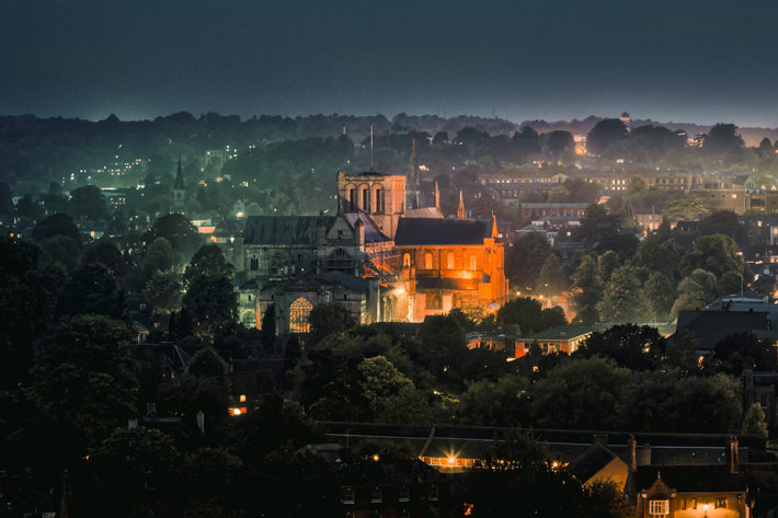 city of winchester travel review dusk
