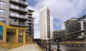 profile of clarence dock leeds