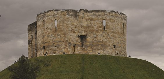 clifford's tower york castle history motte