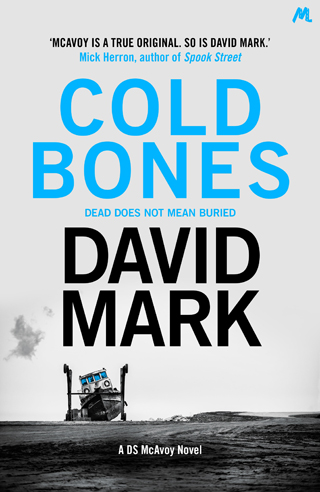 cold bones david mark book review cover