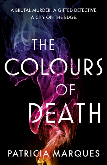 colours of death patricia marques book review cover