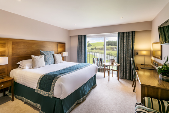 coniston hotel and spa review skipton bedroom