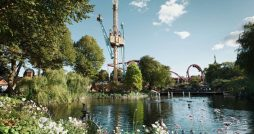 copenhagen denmark travel review Tivoli Gardens lake