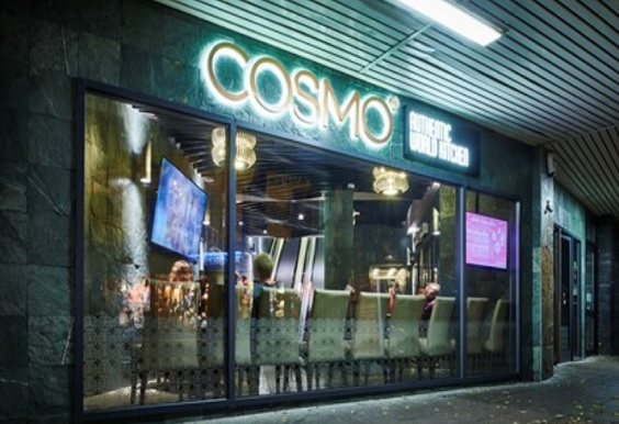cosmo doncaster restaurant review exterior