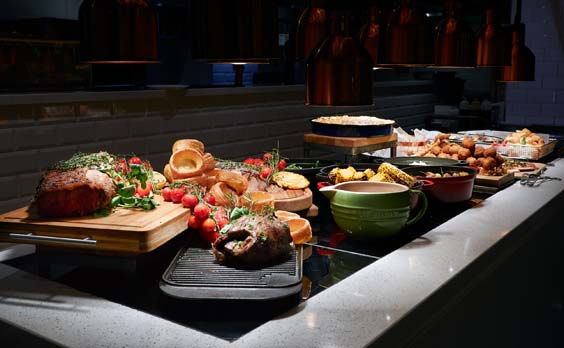 cosmo luxe leeds restaurant review buffet