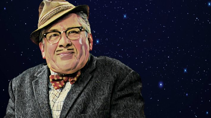 count arthur strong live review scarborough spa october 2019 portrait