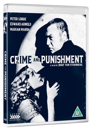 crime and punishment film review bluray cover