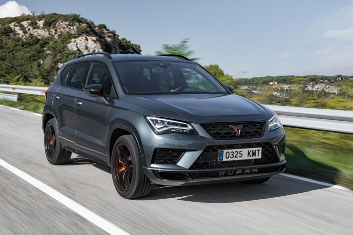 cupra ateca car review front