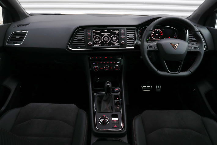 cupra ateca car review interior