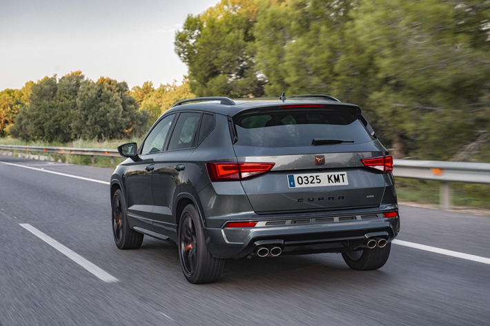 cupra ateca car review rear