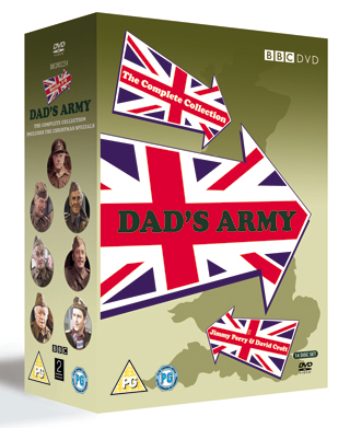 dad's army complete collection dvd review cover
