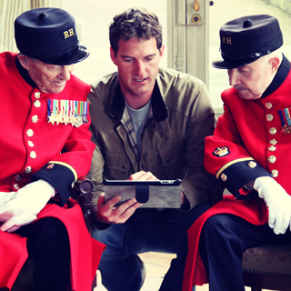 dan snow the history guy interview chelsea pensioners