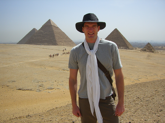 dan snow the history guy interview pyramids