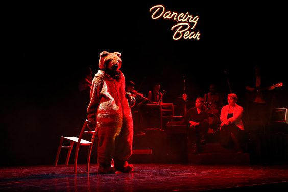 dancing bear review west yorkshire playhouse april 2018 LGBTQ+ costume