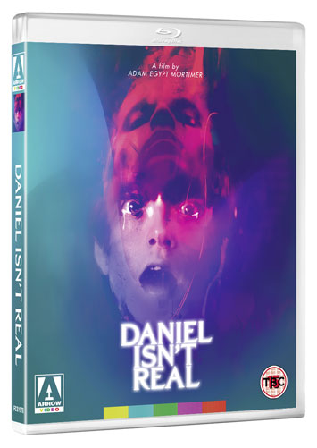 daniel isn't real film review bluray cover