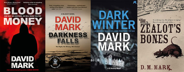 david mark interview books