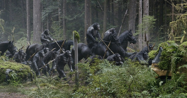 dawn of the planet of the apes film review battle