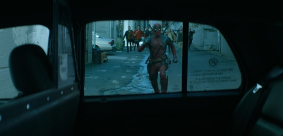 deadpool 2 film review taxi