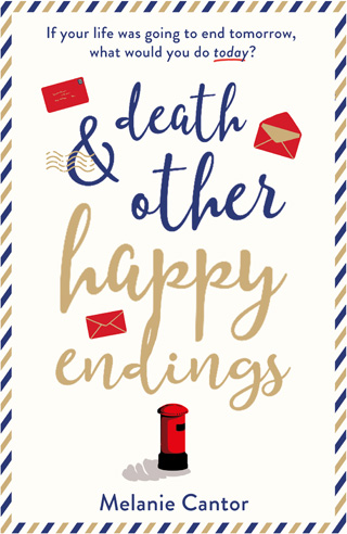 death and other happy endings melanie cantor book review cover