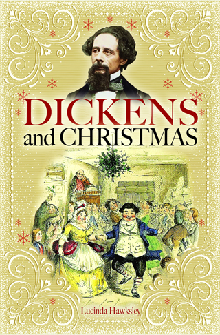 dickens and christmas lucinda hawksley book review cover