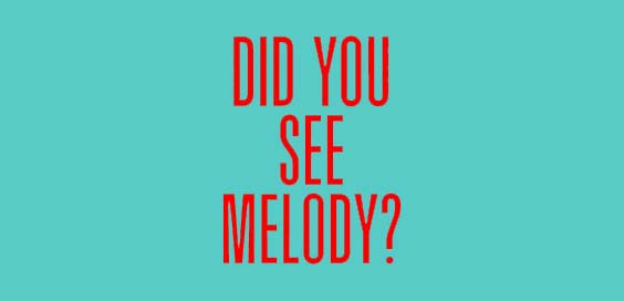 did you see melody book review sophie hannah