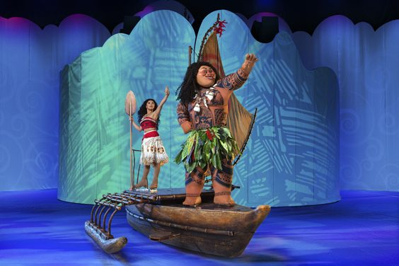 disney on ice dream big review sheffield arena november 2018 moana