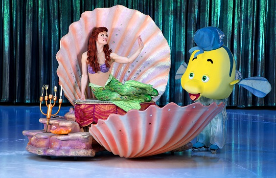 disney on ice sheffield arena review november 2017 little mermaid