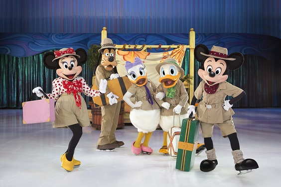 disney on ice sheffield arena review november 2017 minnie