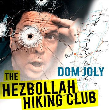 dom joly's holiday snaps live review scarborough spa february 2020 book