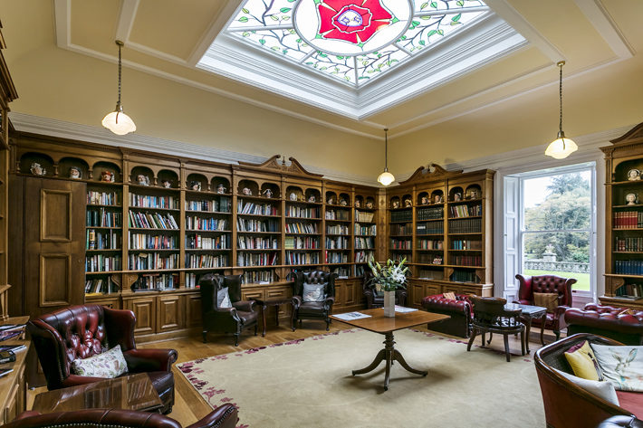 doxford hall northumberland hotel review library