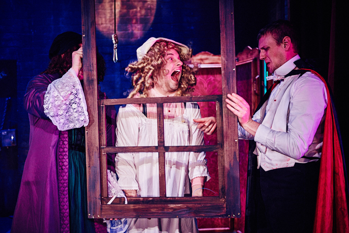 dracula bloody truth review york theatre royal comedy