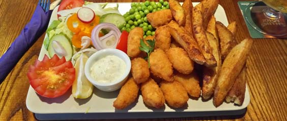 dusty miller restaurant review scampi