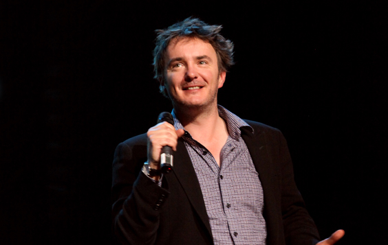 dylan moran dr cosmos interview tea live