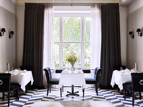 eccleston square hotel london review dining room