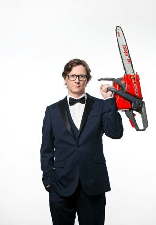 ed byrne interview chainsaw