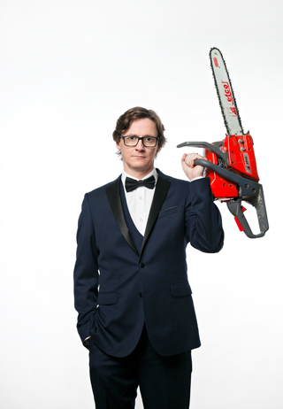 ed byrne live review york grand opera house march 2018 chainsaw