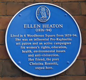 ellen heaton leeds blue plaque