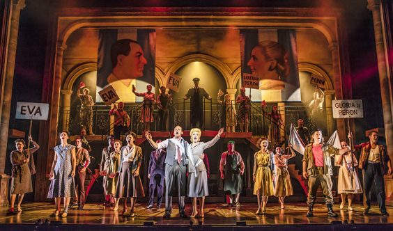 evita review hull new theatre november 2018 2