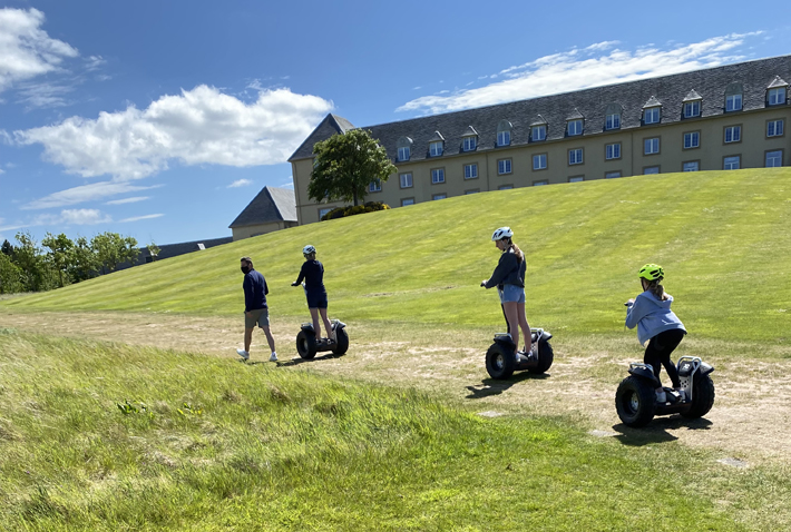 fairmont st andrews hotel review segway