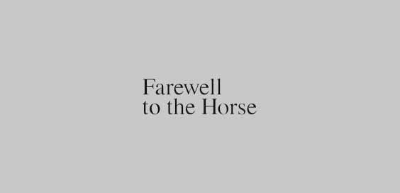 farewell to the horse book review ulrich raulff