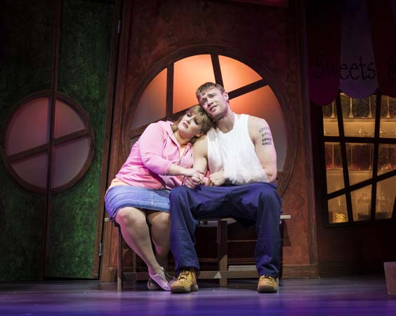 Fat Friends the musical review leeds grand november 2017