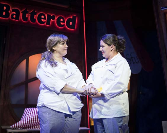 Fat Friends the musical review leeds grand prenger